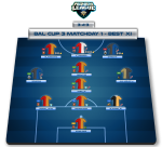 Bal Cup 3 – Matchday 1 – BEST XI